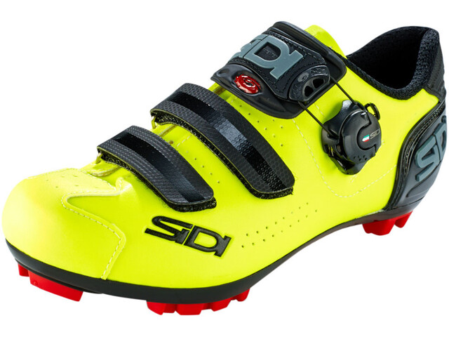 Sidi MTB Trace 2 Chaussures Homme, yellow fluo/black